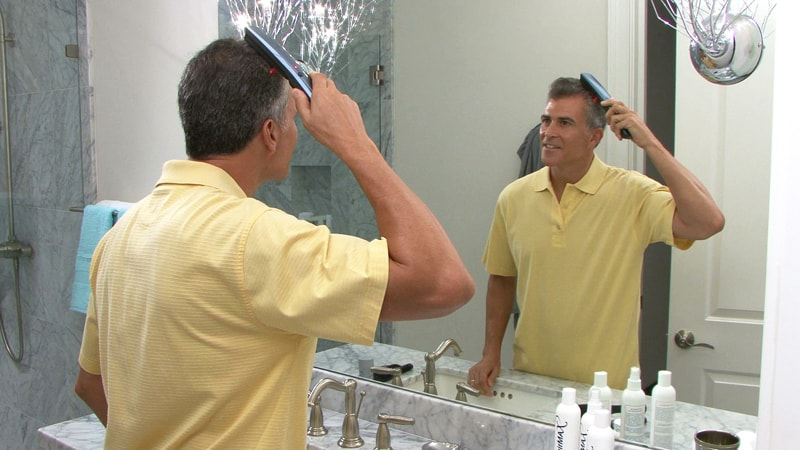 """Face look familiar? Brian is the face behind the Aqua Velvet commercial as well as """"Just For Men A Touch of Grey."""""""
