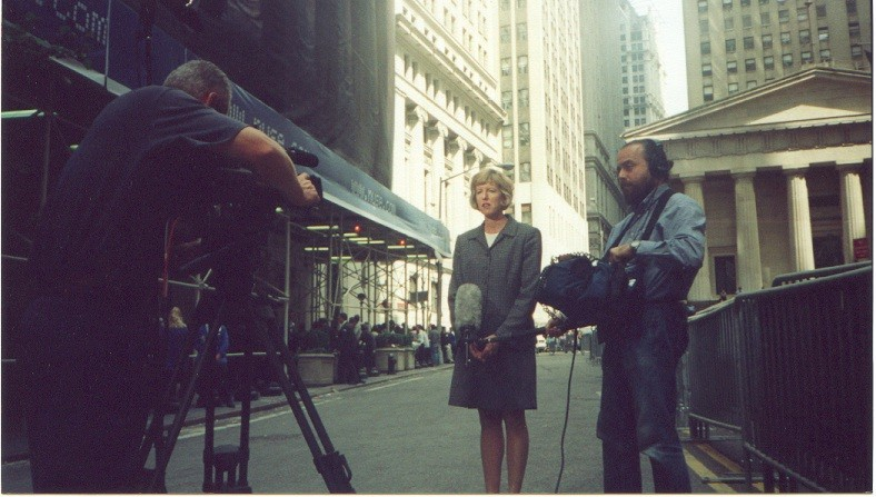 Producing financial stories in the financial district in NYC.