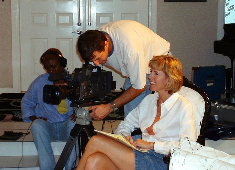 Working as a producer for WPBT in Miami